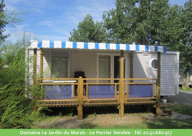 Location mobil home camping saint jean de monts le jardin du marais - Mobil home dans son jardin ...