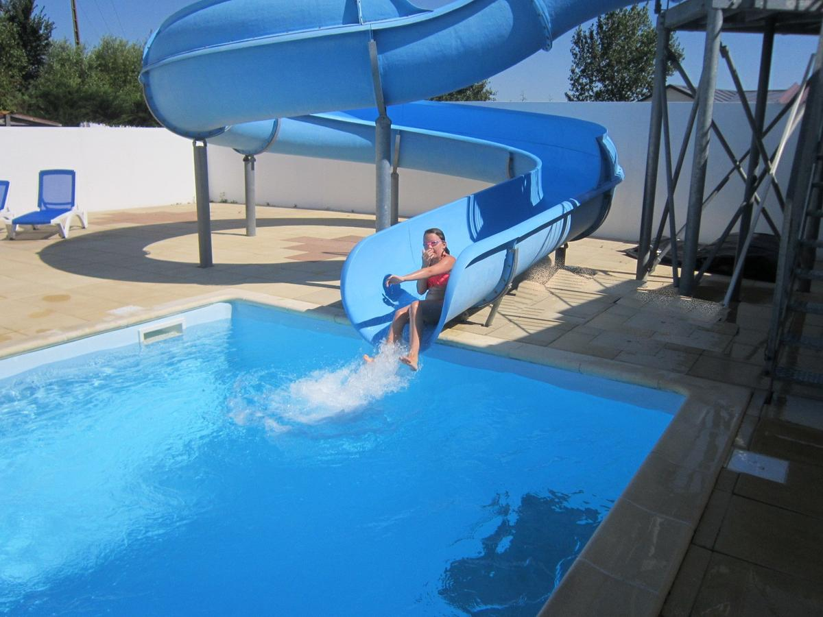 campsite vendee with slides