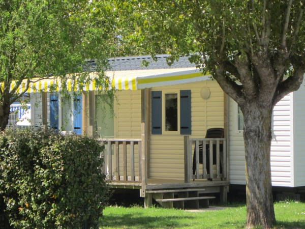 Location mobil home vend e for Camping le jardin