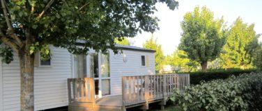 Location cottage mobil home camping avec piscine en vend e - Mobil home dans son jardin ...