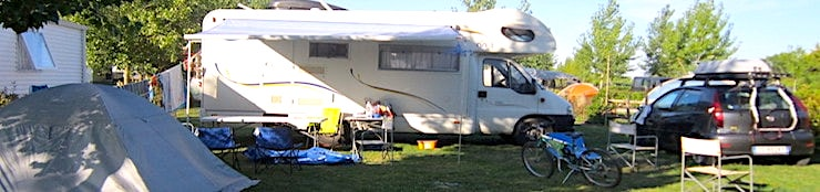 Emplacement de camping st Jean de mont