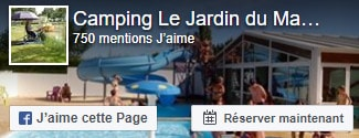Facebook jardin du marais camping