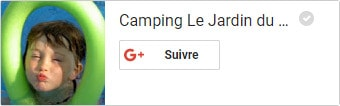 Google+ Camping jardin du marais