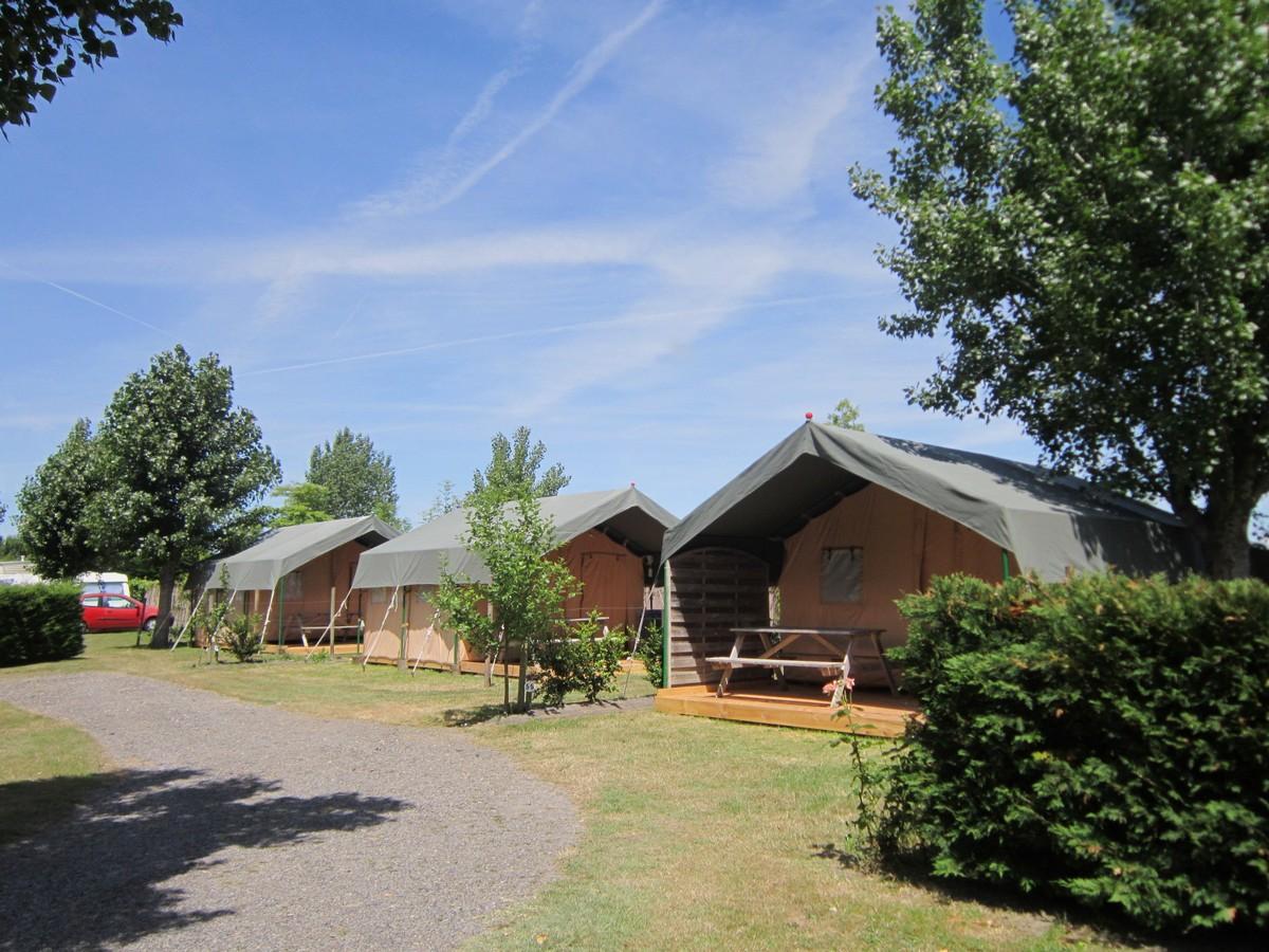 Village Tente Lodge Le Jardin du Marais