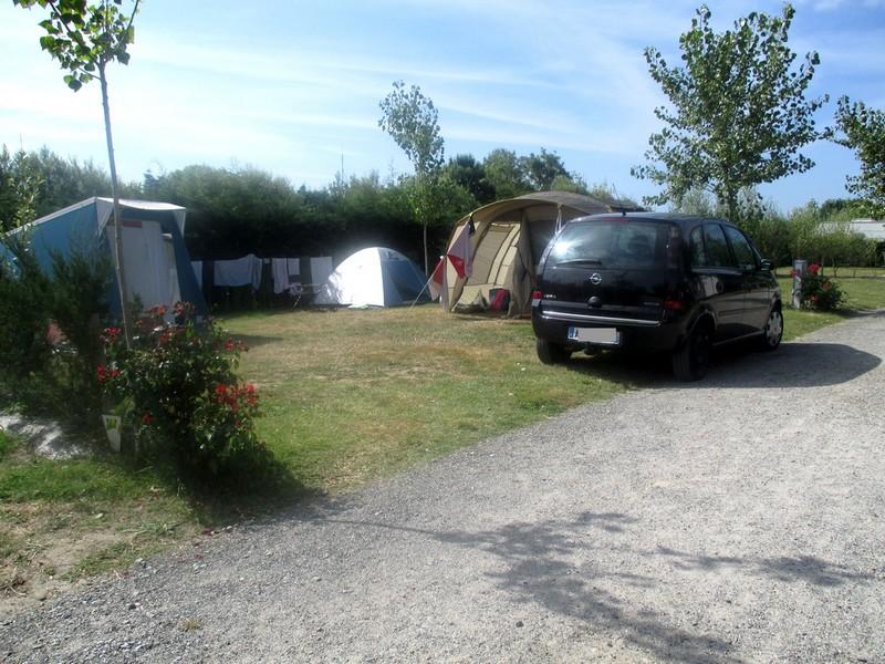 Emplacement le jardin du marais for Camping le jardin du marais