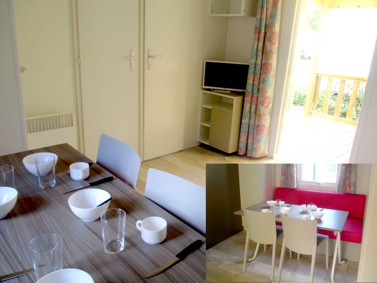 Mobil home irm vend e 2 chambres neuf avec terrasse for Salon du mobil home