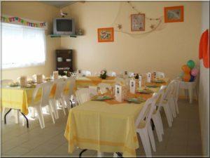 salle camping Vendée