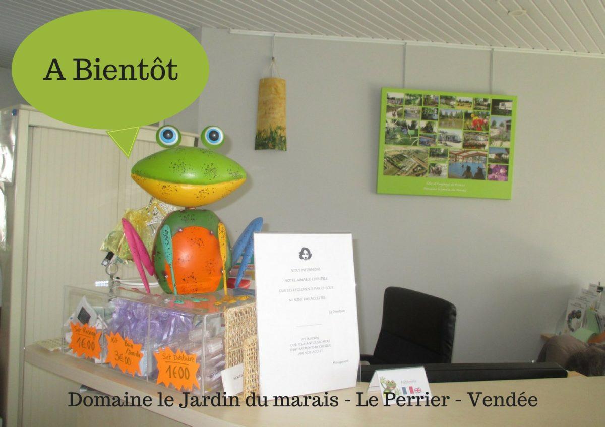 Accueil réception Le Jardin du Marais - Le Perrier