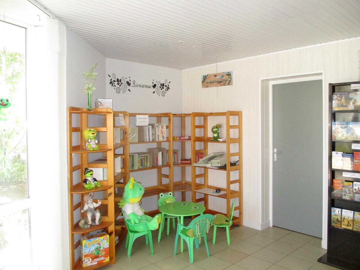 Bibliothèque réception