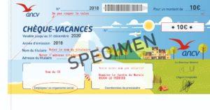 Chèques-vacances 2019