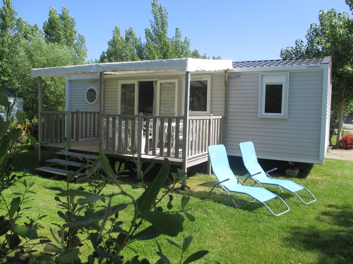 location mobil home moderne 3 chambres le jardin du marais. Black Bedroom Furniture Sets. Home Design Ideas
