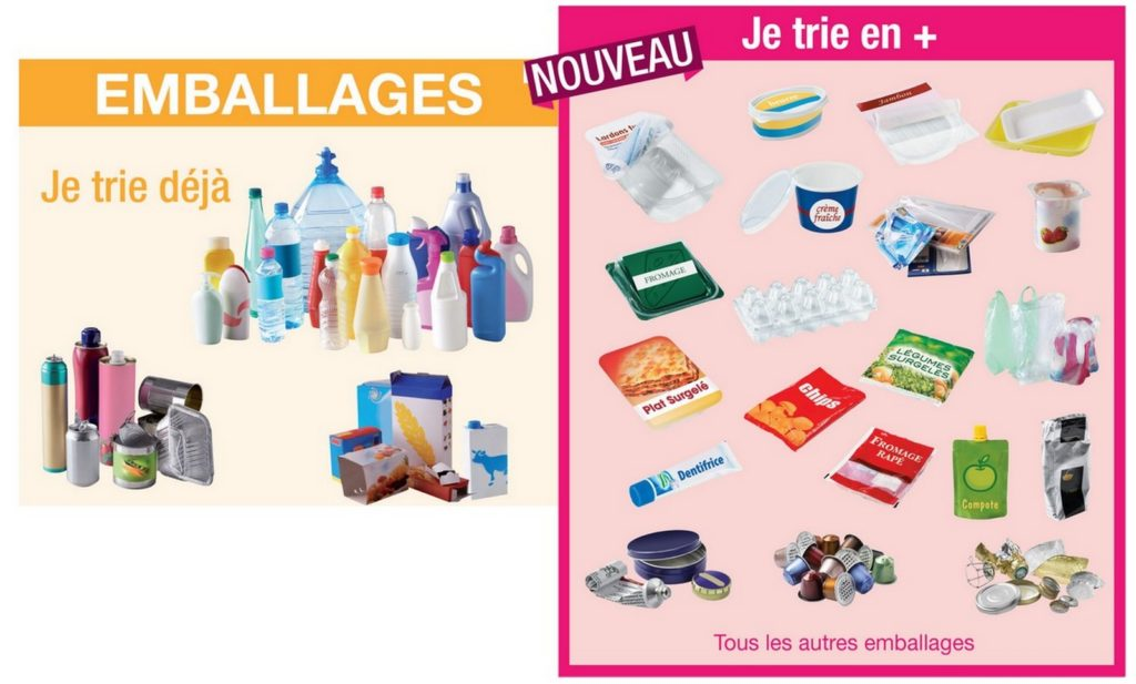 consignes tri emballages selectif