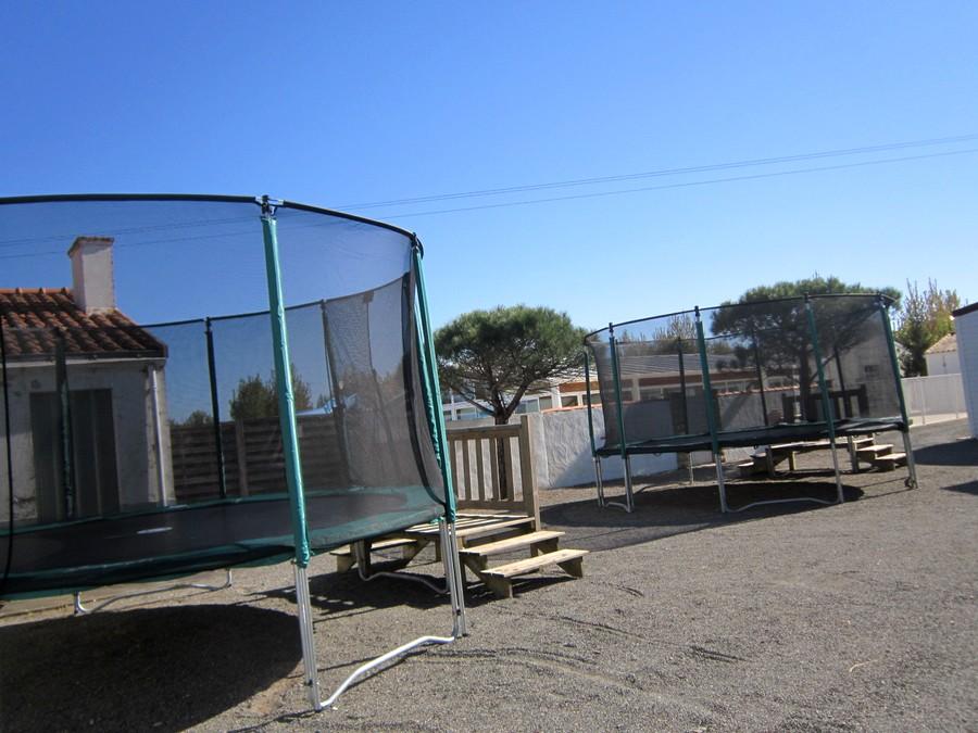 Activités trampoline