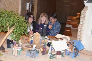 Visite village miniature en famille