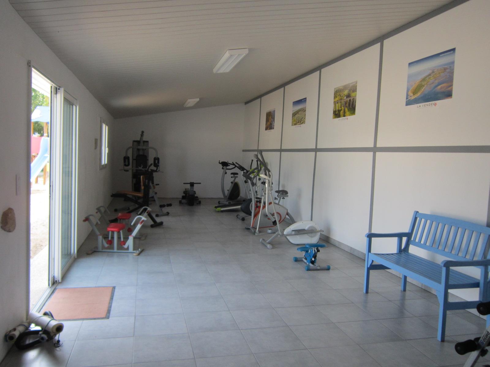 Salle fitness sport