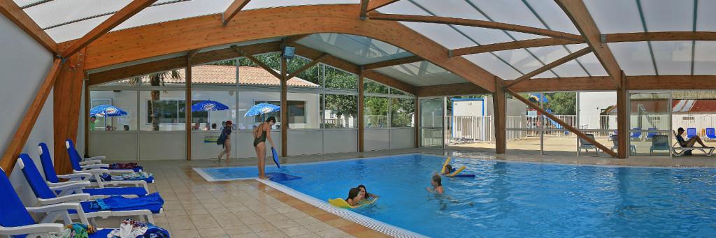 Eco Camping Familial 4 étoiles. En Vendée. Camping Vendée Avec Piscine  Intérieure